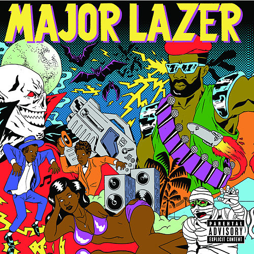 Guns Don't Kill People...Lazers Do van Major Lazer
