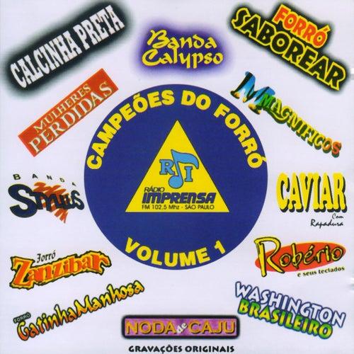 Campeões do Forró, Vol. 01 de Various Artists