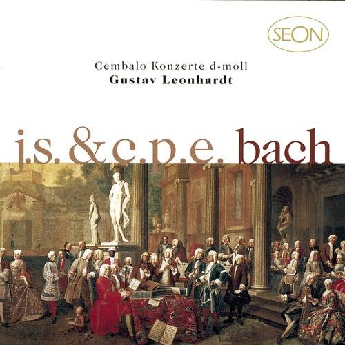J. S. Bach:  Concerto No. 1 in D minor, BWV 1052 & C.P.E. Bach: Concerto in D minor, Wq. 23 by Gustav Leonhardt