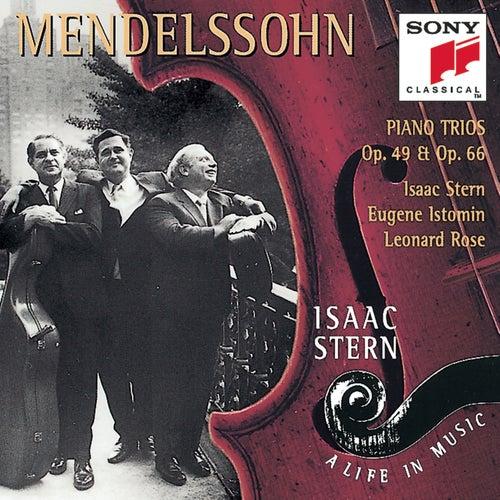 Mendelssohn: Piano Trios, Opp. 49 & 66 de Eugene Istomin; Isaac Stern; Leonard Rose