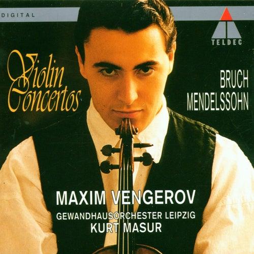 Bruch & Mendelssohn : Violin Concertos di Maxim Vengerov