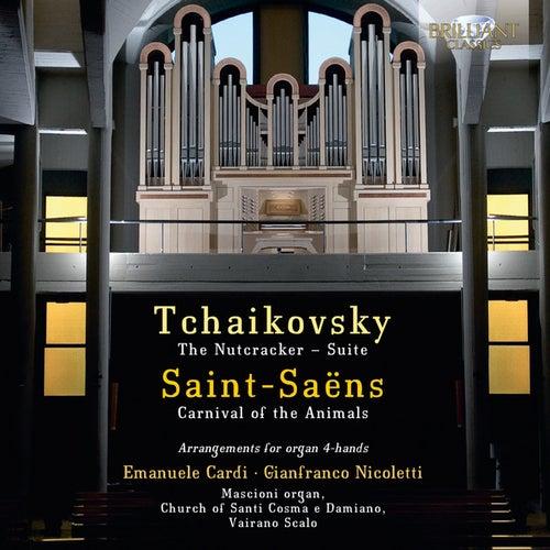 Tchaikovsky & Saint-Saëns: Arrangements for Organ 4-Hands by Emanuele Cardi
