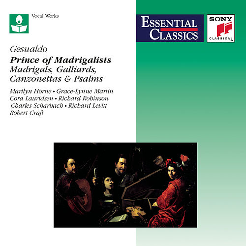 Gesualdo: Prince of Madrigalists by Robert Craft