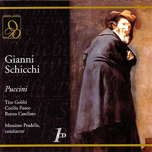 Gianni Schicchi de Massimo Pradella