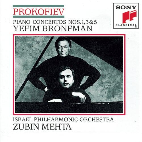 Prokofiev: Piano Concertos Nos. 1, 3, 5 by Israeli Philharmonic Orchestra