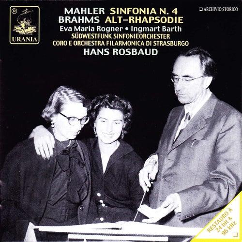 Mahler: Symphony No. 4 - Brahms: Alt-Rhapsodie by Hans Rosbaud