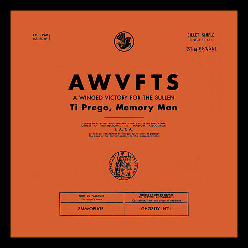 Ti Prego, Memory Man by A Winged Victory for the Sullen