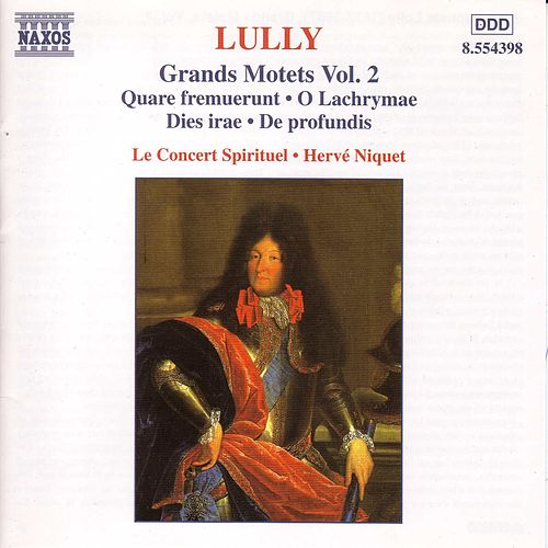 Grands Motets Vol. 2 de Jean-Baptiste Lully