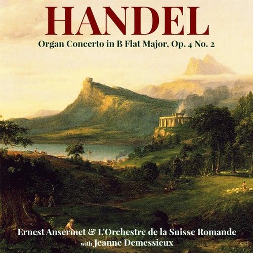 Handel: Organ Concerto in B Flat Major, Op. 4 No. 2 von Jeanne Demessieux