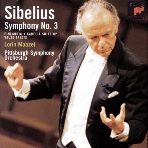 Sibelius: Symphony No. 3, Finlandia, Karelia Suite &... by Lorin Maazel :  Napster
