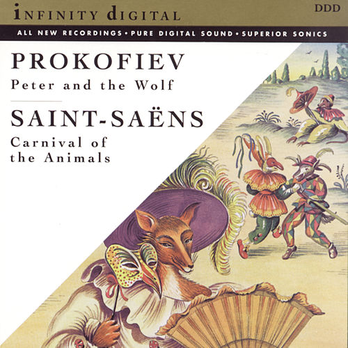Prokofiev: Peter and The Wolf/Carnival of the Animals and Other Great Children's Classics de St. Petersburg Radio & TV Symphony Orchestra; Stanislav Gorkovenko