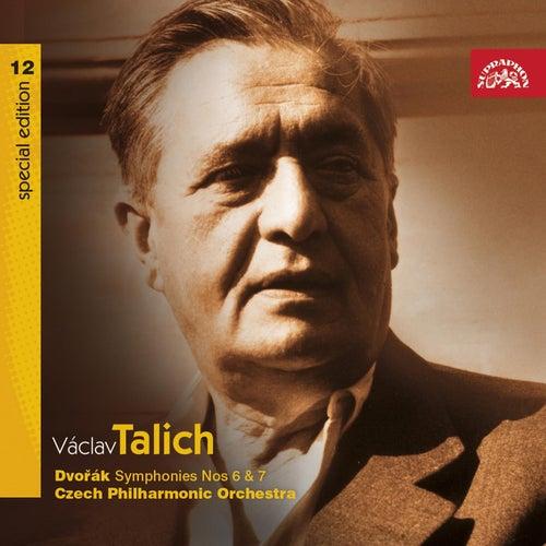 Talich Special Edition 12 Dvorak: Symphonies Nos 6 & 7 / Czech PO, Talich by Czech Philharmonic