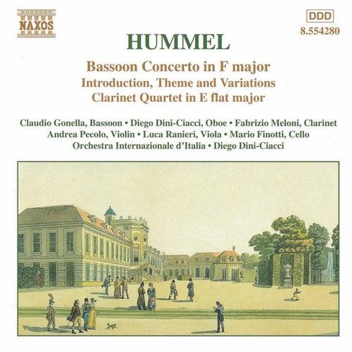 Bassoon Concerto/Clarinet Quartet von Johann Nepomuk Hummel
