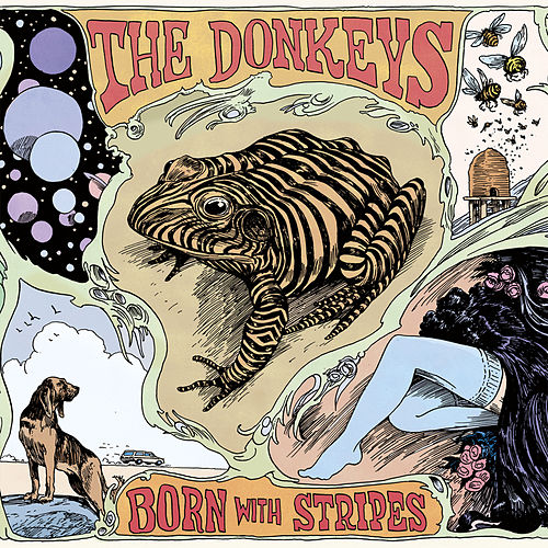 Born With Stripes de The Donkeys