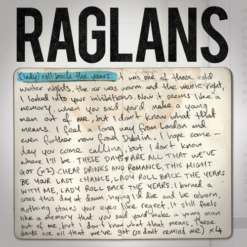 (Lady) Roll Back the Years de Raglans