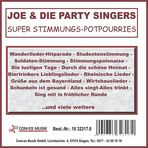 Super Stimmungs-Potpourries de Joe