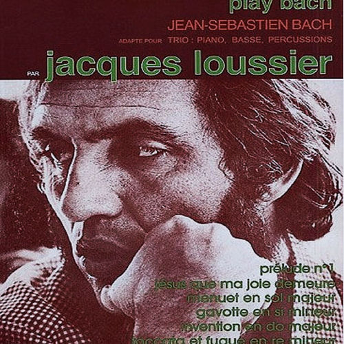Play Bach, Vol. 2 by Jacques Loussier Trio