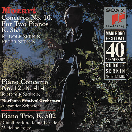 Mozart: Concerto for 2 Pianos in E-Flat Major, K. 365, Piano Concerto No. 12 in A Major, K. 414 & Piano Trio No. 3 in B-Flat Major, K. 502 de Peter Serkin