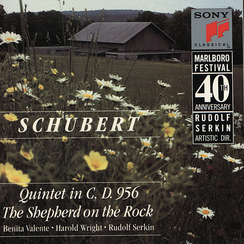 Schubert:  Quintet in C Major de Marlboro Recording Society