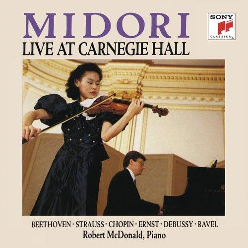 Midori: Live at Carnegie Hall by Midori