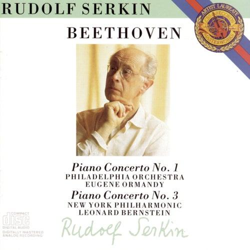 Beethoven: Piano Concertos Nos. 1 & 3 by Rudolf Serkin