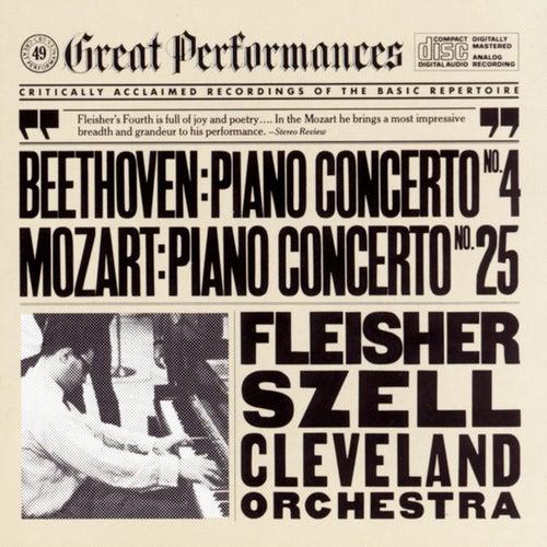 Beethoven: Piano Concerto No. 4 in G Major, Op. 58 - Mozart: Piano Concerto No. 25 in C Major, K. 503 by George Szell