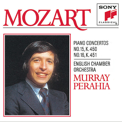Mozart:  Concerto No. 15 & 16 for Piano and Orchestra von English Chamber Orchestra; Murray Perahia