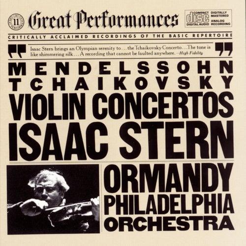 Tchaikovsky & Mendelssohn: Violin Concertos de Eugene Ormandy; Isaac Stern