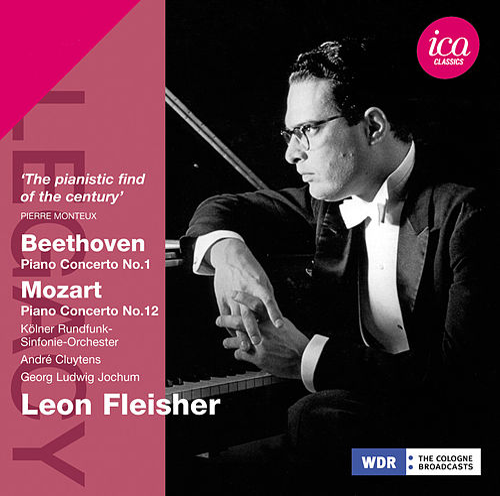 Beethoven & Mozart: Piano Concertos by Leon Fleisher