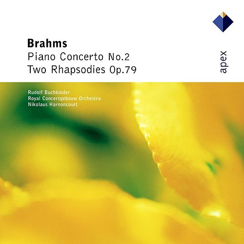 Brahms : Piano Concerto No.2 & 2 Rhapsodies (-  Apex) by Rudolf Buchbinder