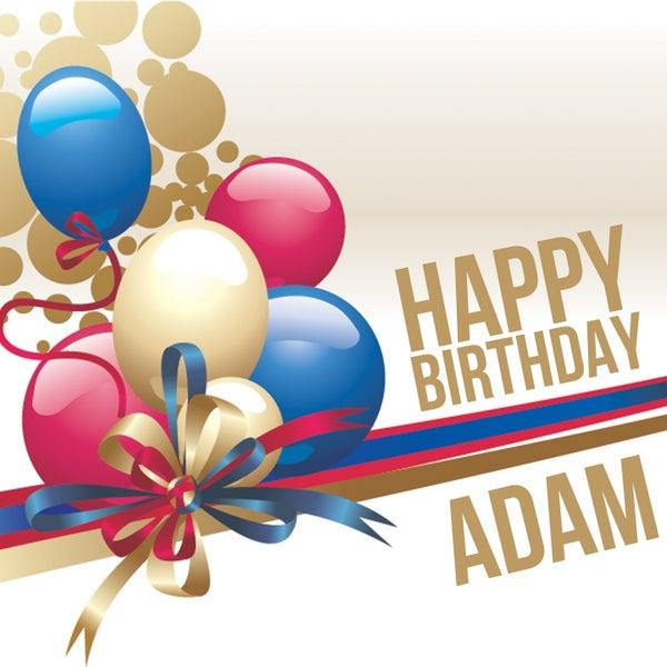 Happy Birthday Adam Van The Happy Kids Band Napster