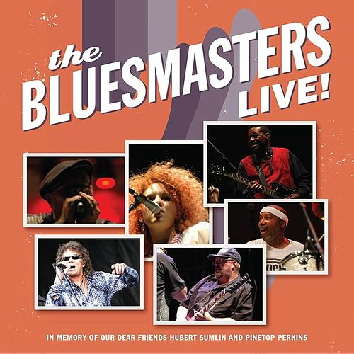 The Bluesmasters Live! de The Blues Masters