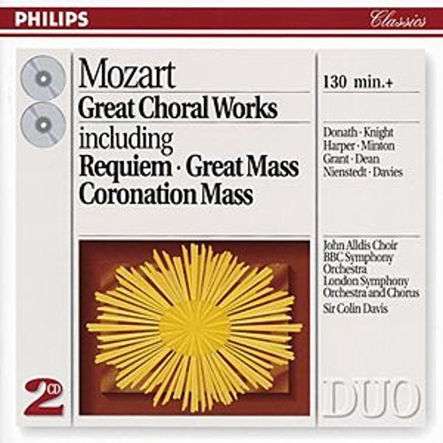 Mozart: Great Choral Works by London Symphony Chorus