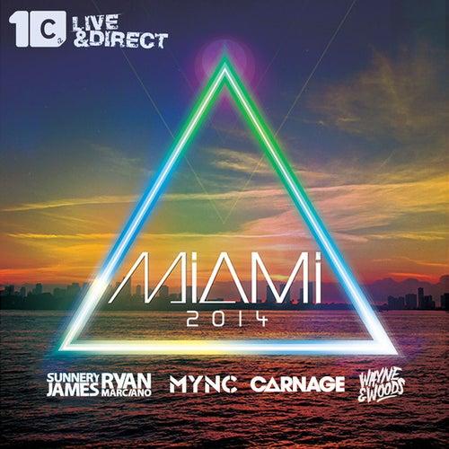 Miami 2014 (Mixed by MYNC, Carnage, Sunnery James & Ryan Marciano, Wayne & Woods) de Various Artists