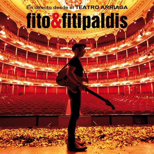 En directo desde el Teatro Arriaga de Fito y Fitipaldis