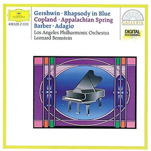 Gershwin: Rhapsody in Blue / Copland: Appalachian Spring / Barber: Adagio for Strings by Los Angeles Philharmonic