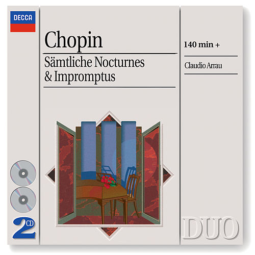 Chopin: The Complete Nocturnes/The Complete Impromptus de Claudio Arrau