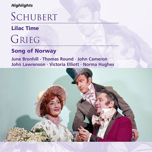Schubert: Lilac Time; Grieg: Song of Norway von Michael Collins