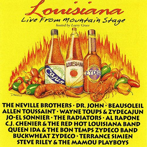 Louisiana Live From Mountain Stage de Various Artists