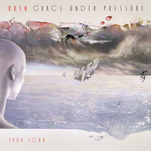 Grace Under Pressure Tour Live by Rush