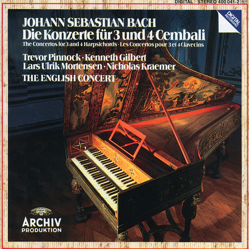 Bach, J.S.: Concertos for 3 and 4 Harpsichords von The English Concert