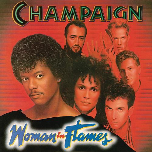 Woman In Flames de Champaign