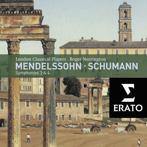Mendelssohn - Symphonies Nos. 3 & 4 by Roger Norrington