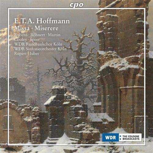 Hoffmann: Missa, AV 18 & Miserere, AV 42 by Various Artists