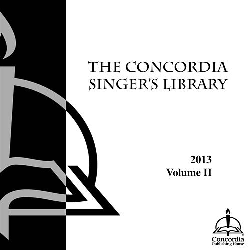 The Concordia Singer's Library-Choral II by Concordia Publishing House