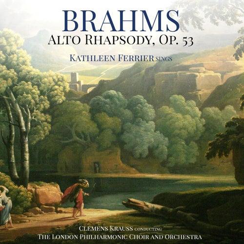 Brahms: Alto Rhapsody, Op. 53 de Kathleen Ferrier