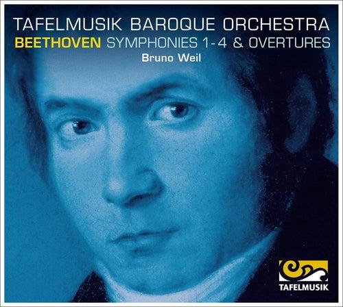 Beethoven: Symphonies 1-4, Overtures de Tafelmusik Baroque Orchestra