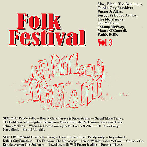 Folk Festival, Vol. 3 by Various Artists