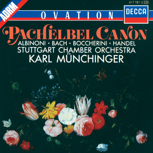 Albinoni / J.S.Bach / Handel / Pachelbel etc.: Adagio / Fugue in G minor / Organ Concerto No.4 / Canon etc. by Stuttgarter Kammerorchester