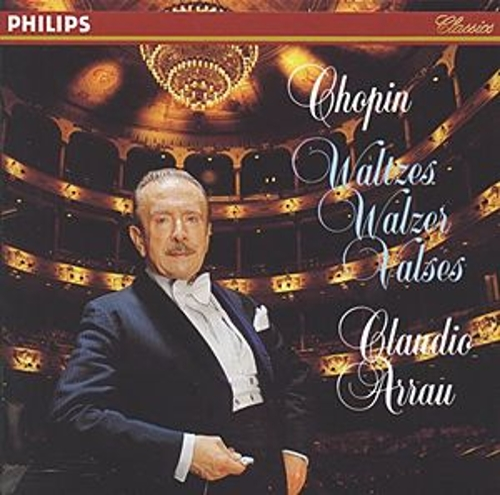 Chopin: Waltzes de Claudio Arrau